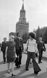 Angela Davis Moscou